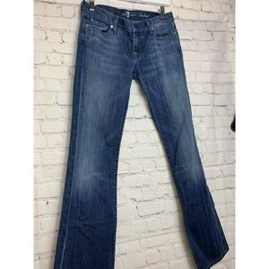 7 FOR ALL MANKIND SIZE 28 A POCKET JEANS WOMEN